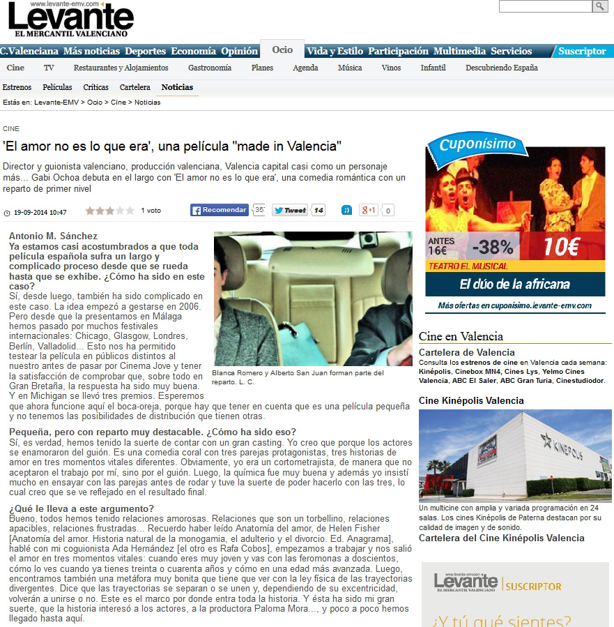 Levante_noticia_El_amor_no_es_lo_que_era