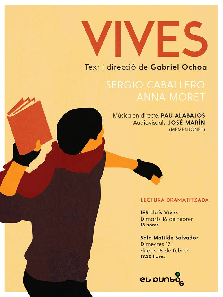 Cartel VIVES. Gabi Ochoa